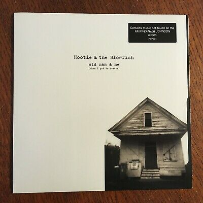 """Hootie & The Blowfish 'Old Man & Me (When I Get To Heaven) US '7"""" Vinyl 45 P/S"""