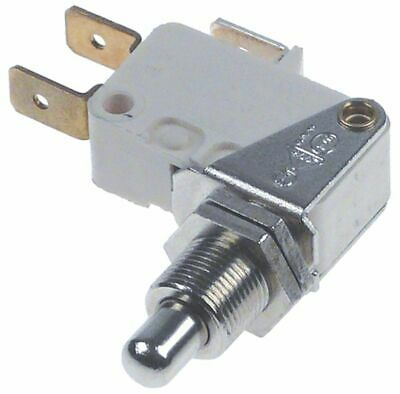 Universal Microswitch With Plunger Thread M10X0.75 Thread L 14Mm 250V 10A 1Co