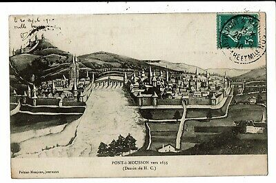 CPA-Carte Postale - FRANCE-Pont à Mousson- vers 1635-1910 VM5860