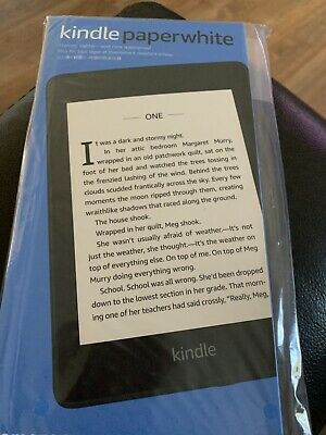 Amazon Kindle Paperwhite (10th Generation) 8GB, Wi-Fi  New Sealed With Offers