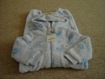 Marks and Spencer Disney Frozen Elsa Fleece All in One Sleepwear Age 2-3 yrs NEW