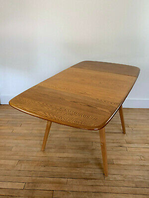 Mid Century Genuine Original Ercol  Folding Table with two drop leafs