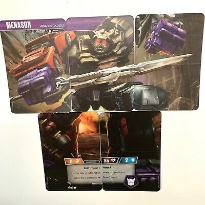 Menasor T13 T15 T16 T30 T31 Transformers Tcg Rise Of Combiners New Wave 2 Cards