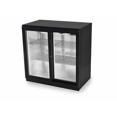 Zero Primo 2 Sliding Double Door Bottle Chiller-GRADED