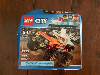 Lego City 60146 Stunt Truck - Brand New with damaged box