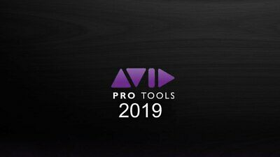 AVID PRO TOOLS 2019 PERPETUAL License Activation Card & ILOK