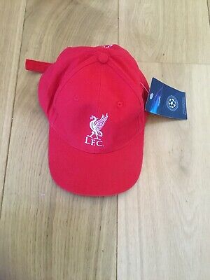 Liverpool Fc Official Champions League Baseball Hat Sz 57Cms Bnwt