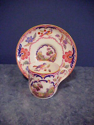 Gorgeous Spode Copelands China SPODE'S GOBELIN Demitasse Cup and Saucer
