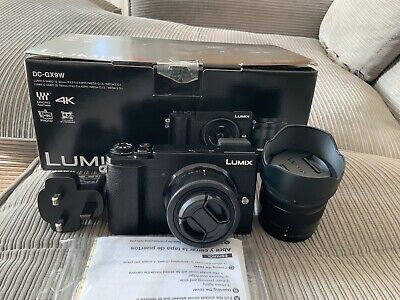 Panasonic Lumix GX9 Black with 12-32mm and 35-100mm Lenses