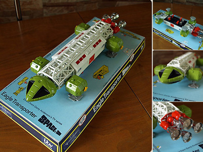 Space 1999 Eagle 1 Mattel Transporter Dinky Retro 12''Enterprise Ltd Size 1/500
