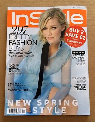 InStyle - May 2016 (Kirsten Dunst)