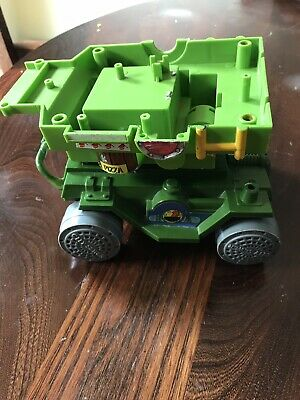 Teenage Mutant Ninja Turtles Pizza Thrower Action Figure TMNT 1989 Parts
