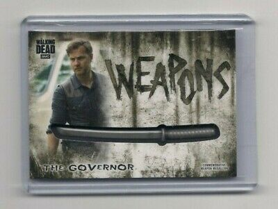 Walking Dead Hunters & Hunted The Governor Commemorative Medallion Card (Katana)