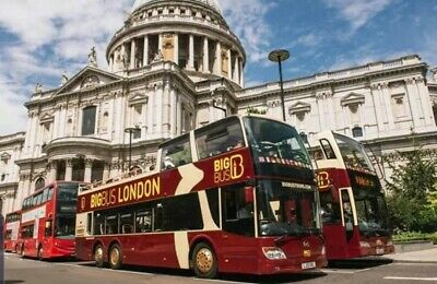 Big Bus Tour Tickets London x3 adults unlimited day pass