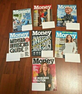 7 Money Magazines Investors & Tax Guide 2019 Best Colleges 18 Financial Freedom