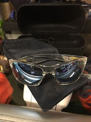 REVO RE4041X 01 BL ABYSS Shiny Black w// Blue Water POLARIZED Lenses Suns $189