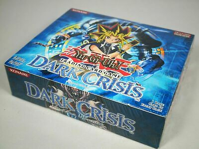 Yugioh Dark Crisis Booster Box DCR Unlimited Factory Sealed 24 Packs Mint
