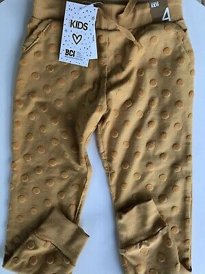 Track Pants Child Girls Size 4 Casual Spring Cotton On