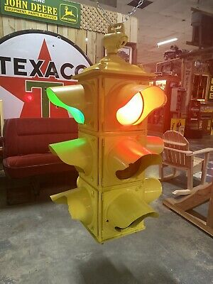 Vintage 1950s Crouse Hinds 4-Way Traffic Light - TL 1001 - Rewired