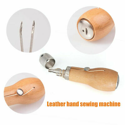 Stiching Sewing Speedy Stitcher Awl Needle Tool Sets for Leather Sail + Canvas