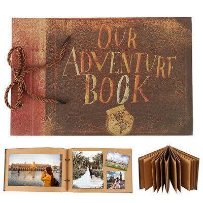 Self-Adhesive Photo Albums with 40 Sheets,Travel Memories Picture DIY album Book