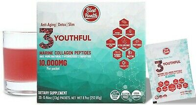 Clean Marine Collagen Type I 10.000mg per serving Anti Aging Detox supplements