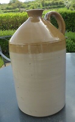 "Large Stoneware Flagon Jar 40 cm ""No 2"" Collection North Wilts/M4"