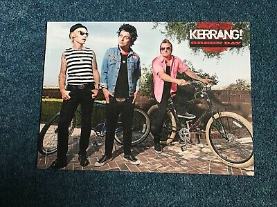 Green Day/You Me At Six Double Sided Poster - Kerrang! - Billie Joe Armstrong