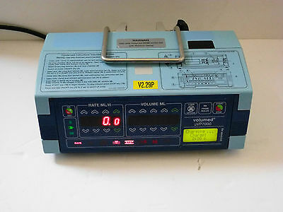 ARCOMED AG uVP 7000 VOLUMED SYRINGE INFUSION PUMP DRIVER NEONATOLOGY PEDIATRICS