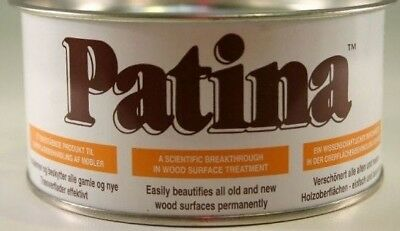 PATINA FOR WOOD - Don't Wax It Don't Oil It Don't Varnish It ... Patina It!
