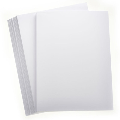 20 SHEETS PREMIUM A4 WHITE CARD APPROX 300gsm SMOOTH, cardmaking, papercraft etc