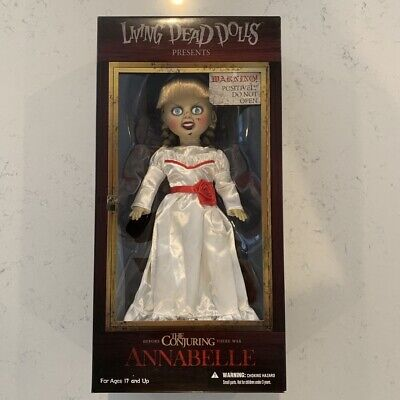 """Mezco Living Dead Dolls The Conjuring Annabelle 10"""" inch Doll New Sealed"""
