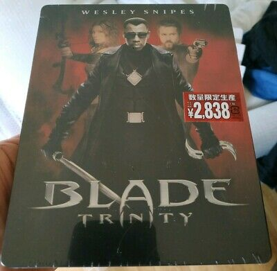 Marvel's Blade Trinity Amazon Japan Bluray Steelbook New - ships worldwide