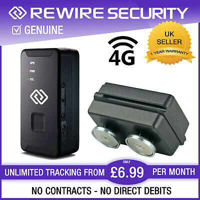 SpyTrack Nano Portable GPS Tracker With Magnetic Case Vehicle Tracking Device