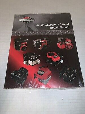 Briggs and Stratton 270962 Single Cylinder Repair Manual New Sealed