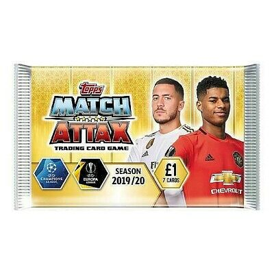 MATCH ATTAX CHAMPIONS LEAGUE 19/20 FOLDERS & TINS (with & without cards) - PICK