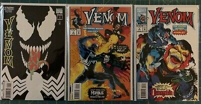 VENOM THE MACE, ENEMY WITHIN, FUNERAL PYRE COMPLETE 1 2 3 Lot NM Punisher