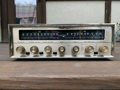 Vintage 1960s Pilot 602 Stereo Receiver Project Includes Some Tubes Needs Work