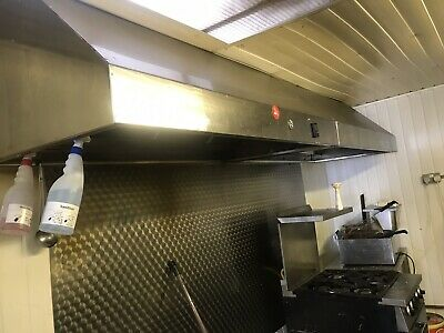 Kitchen Equipment Units Other Kitchen Equipment Canopy 3000x1200 Commercial Kitchen Hood 10ft Gas Interlock Extraction Kit Other Kitchen Equipment Kitchen Equipment Units Genuss Ng