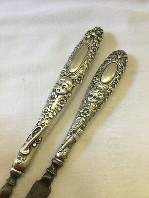 1800's Victorian Tiffany & Co. Sterling Silver Nail File & Cleaner Manicure Set