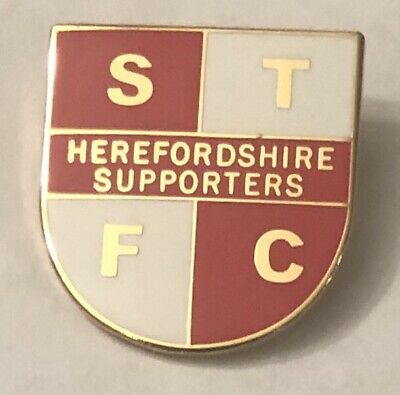 SWINDON TOWN Herefordshire Supporters Club Collectable Football Pin Badge