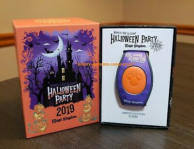 Disney Mickey's Not So Scary Halloween Party 2019 Magic Band Limited Edition NEW