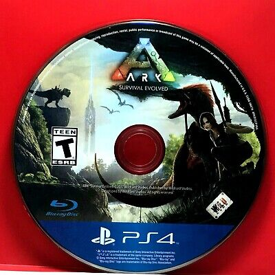 Ark: Survival Evolved (Sony PlayStation 4, 2017) Disc Only #20919