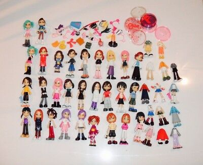 Pinky St dolls collection set with accessories blythe manga japan