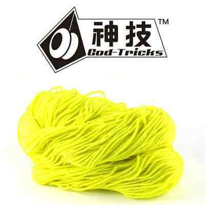 10 x God Tricks 40% Poly / 60% Cotton YoYo Strings Type 6 YELLOW YoYo String