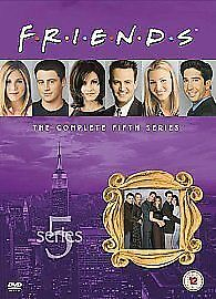 Friends: Complete Season 5 - New Edition [DVD] [1995] DVD, Very Good, , Maggie W