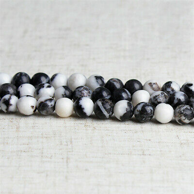 10mm Natural Round Spotted Stone Loose Beads Diy Accessories Top Charm Gemstone