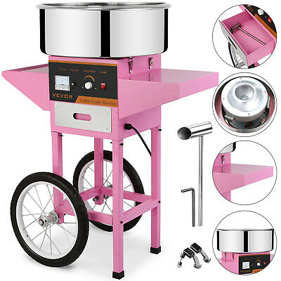 New Electric Candyfloss Making Machine Home Cotton Sugar Candy Floss Maker