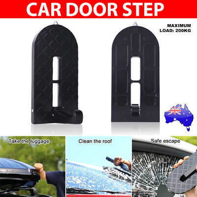 Vehicle Access Roof Of Car Door Step Rooftop Doorstep Latch Pedal Hook Ladder