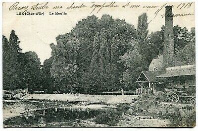 CPA - Carte Postale - France - Lux - Le Moulin - 1918 (I9793)